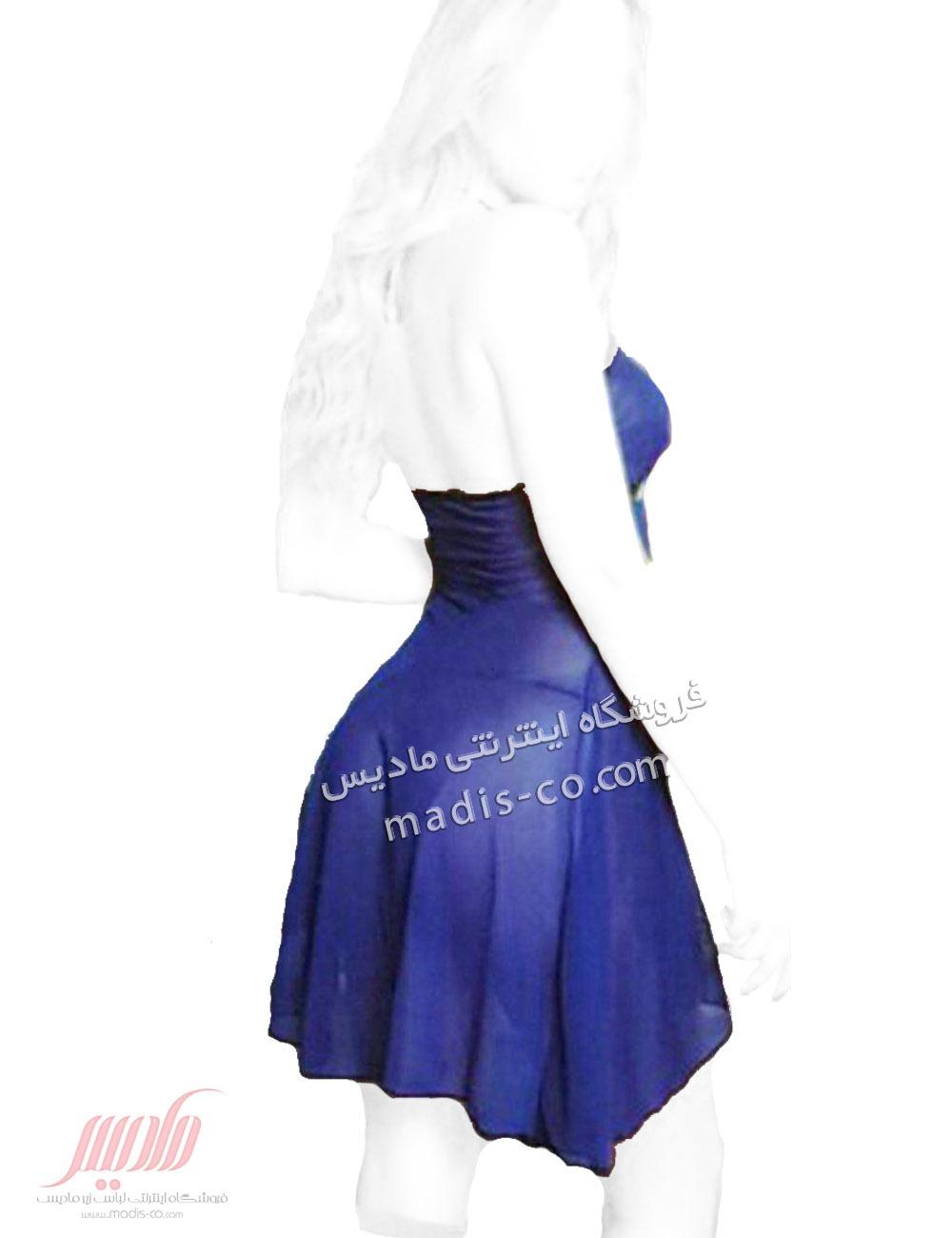 لباس خواب زنانه توری کوتاه