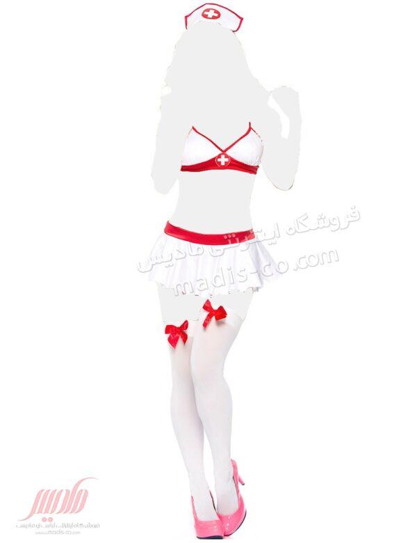کاستوم پرستاری دامن دار Valentine