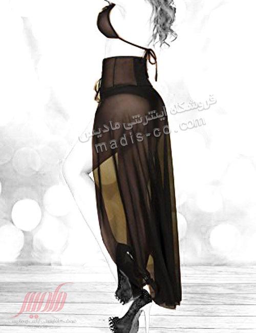 لباس فانتزی توری زنانه دامن دار
