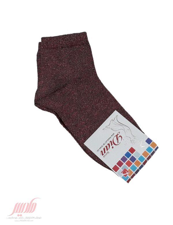جوراب زنانه یک ربع لمه