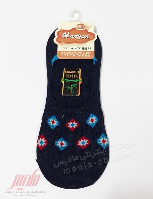 جوراب زنانه نخی کالجی طرحدار