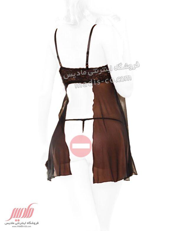 لباس خواب زنانه کوتاه پشت باز