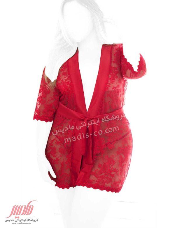 لباس خواب زنانه روبدوشامبر سایز بزرگ